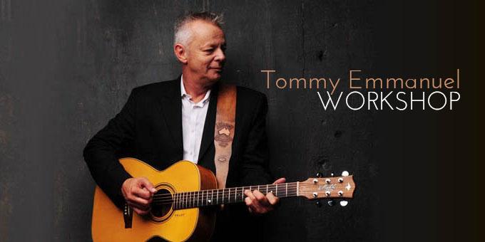 Tommy Emmanuel Workshop